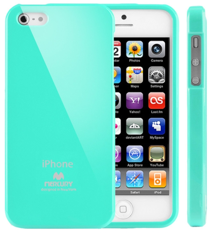 Slim Fit Flexible TPU Case for Apple iPhone 5