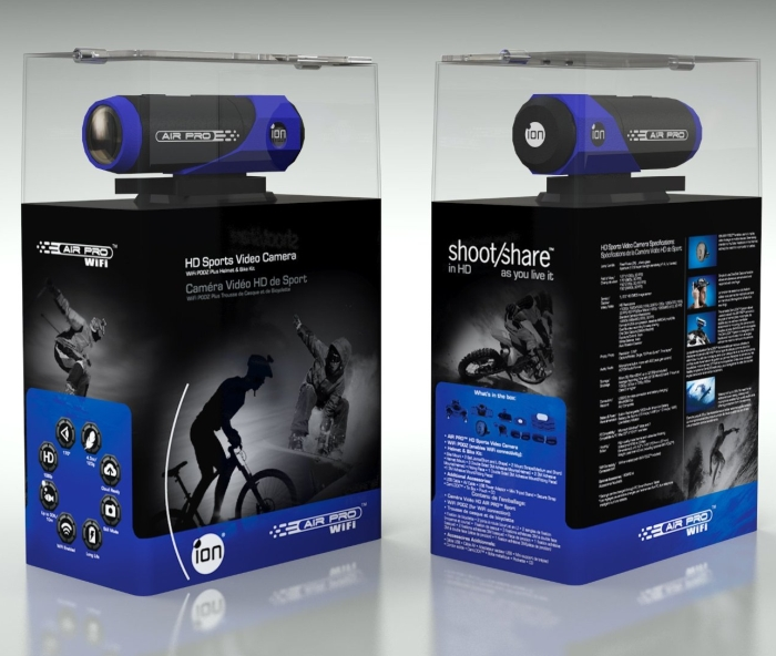 Ion Air Pro Wi-Fi with ION Bike/Helmet Kit/ION Connect Kit