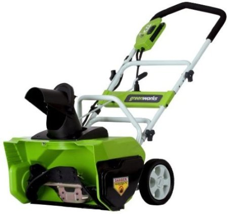Greenworks 26032 20-Inch 12 Amp Electric Snow Thrower