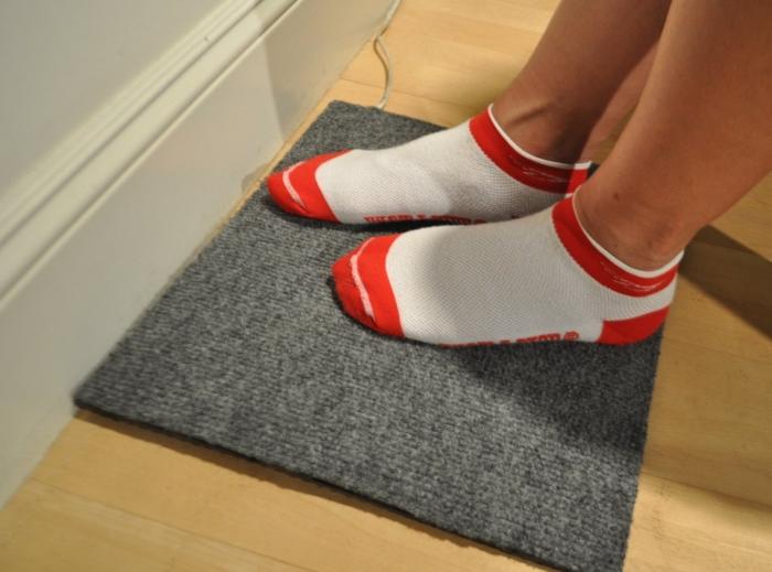 WarmFoot heated foot pad