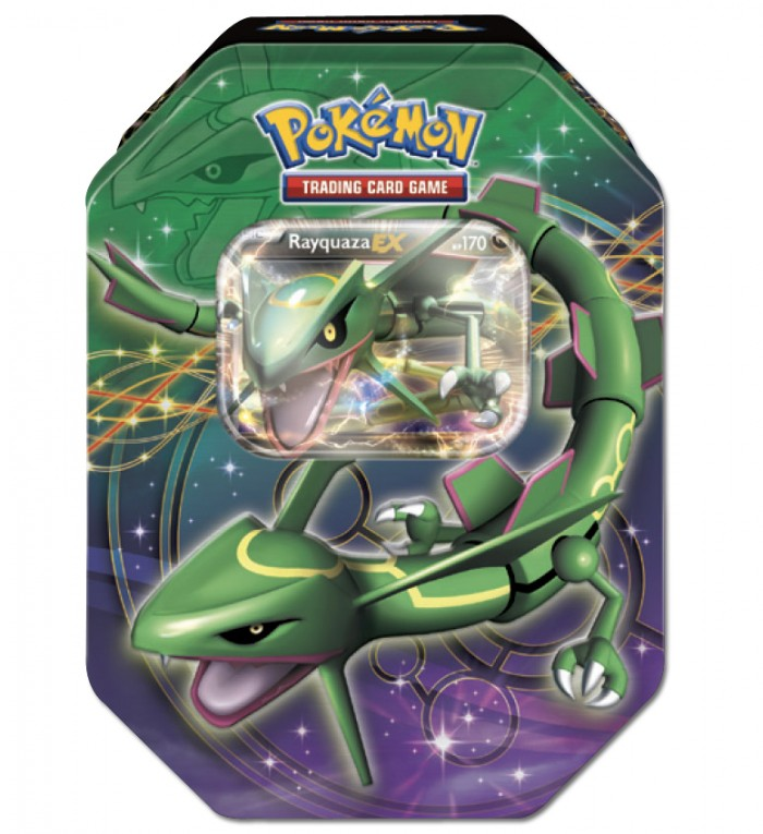 2012 Pokemon Dragons Exalted Rayquaza-EX Legendary Collector's Tin
