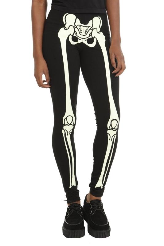Teenage Runaway Glow Skeleton Legging
