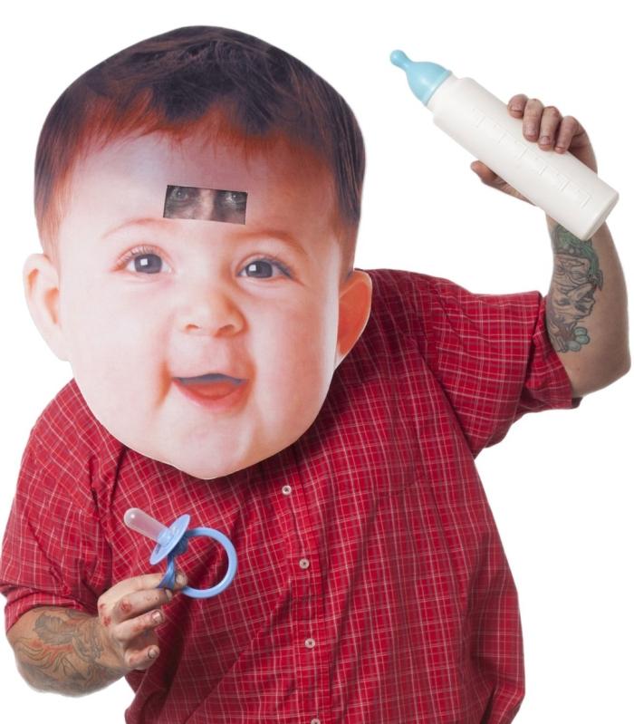Big Head Mask Baby