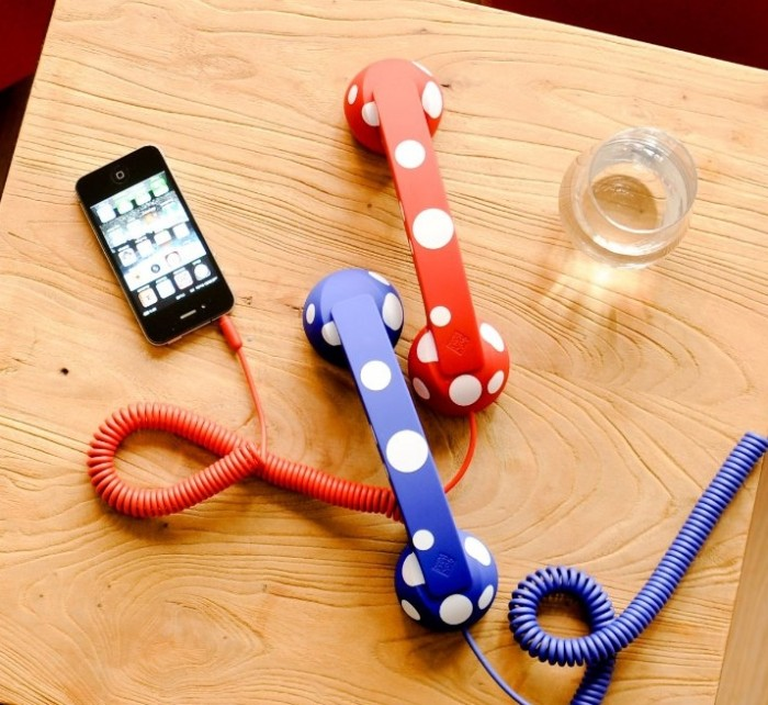 POP Phone Handset for Mobile Devices and Tablets