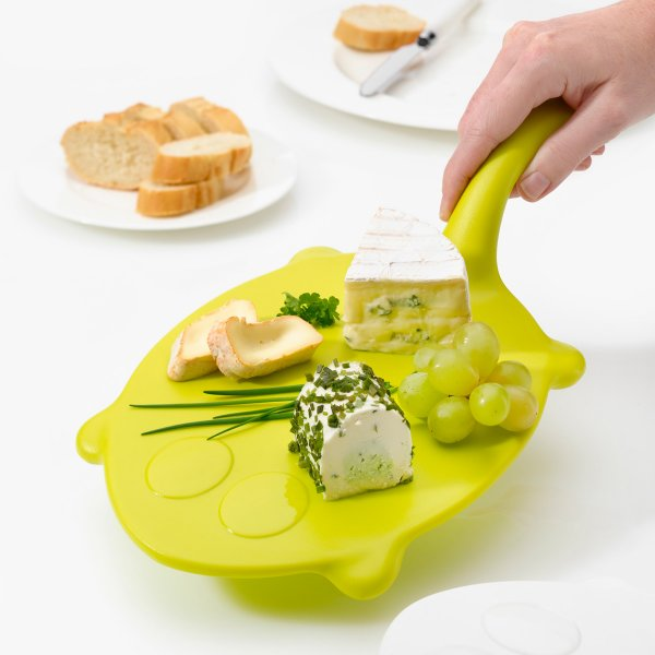 Serving Tray Tracy solid mustard