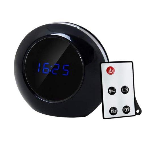Remote Control Mirror Alarm Clock DVR