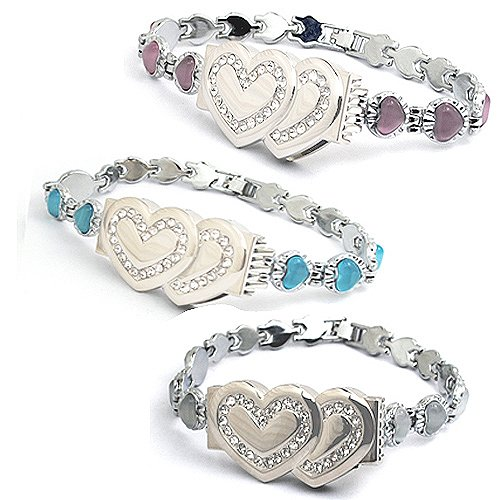 8gb Heart Bracelet Style USB Flash Drive