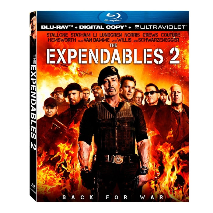 The Expendables 2 [Blu-ray + Digital Copy + UltraViolet] (2012)