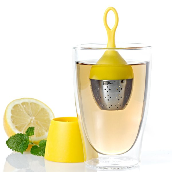 Floating Tea-Egg Floatea yellow