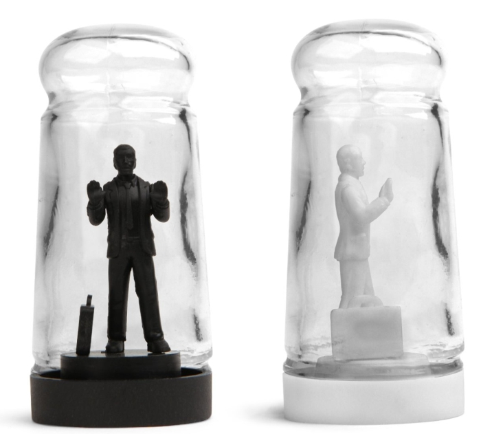 Drowning in Debt Salt and Pepper Shaker
