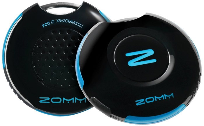 Zomm Wireless Leash for Mobile Phones, Bluetooth Speakerphone, and Personal Safety