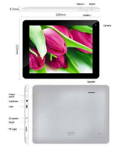 """ELSSE 8"""" 5-point capacitive screen TABLET PC ANDROID 4.0"""