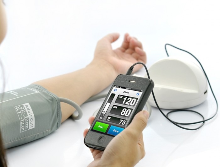 Blood Pressure Monitor System for iPhone, iPod Touch, iPad