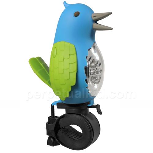 TWEETING BIRD BIKE LIGHT & HORN
