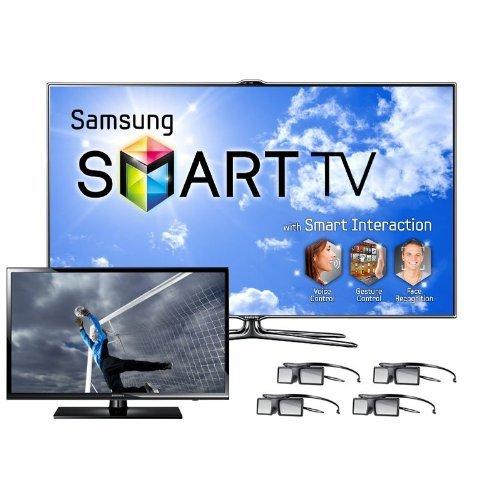 """Samsung UN46ES7500 46"""" 240Hz 1080p LED 3D HDTV Bundle"""