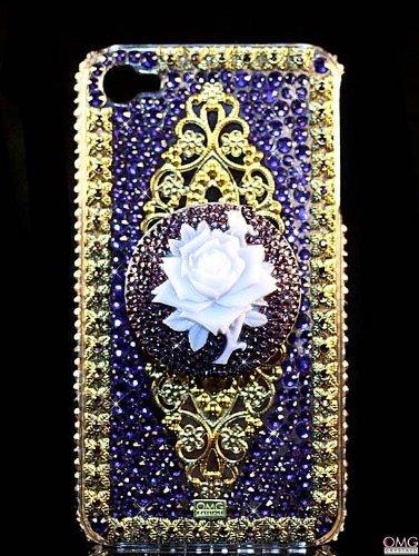 iPhone 5 Swarovski Crystal Bling Diamante Case Cover