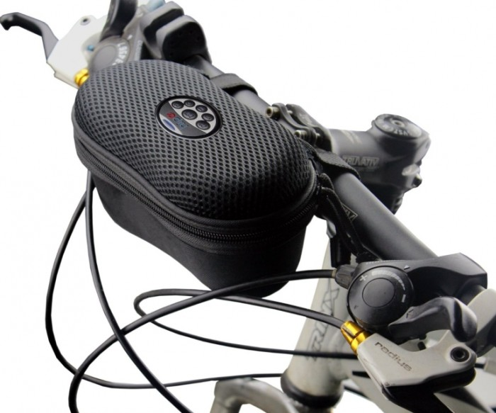 Rechargeable Bicycle Speaker Case