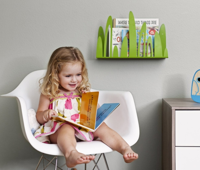 Boon Turf Front-Facing Bookshelf