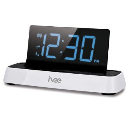 Interactive Talking Alarm Clock FM Radio