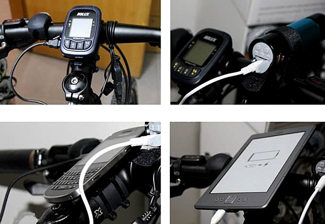 Bicycle Chain Charger to USB