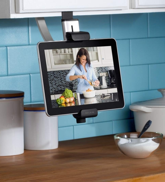 Belkin Kitchen Cabinet Mount For Ipad (Compatible With New Apple Ipad 3Rd Generation Hd)