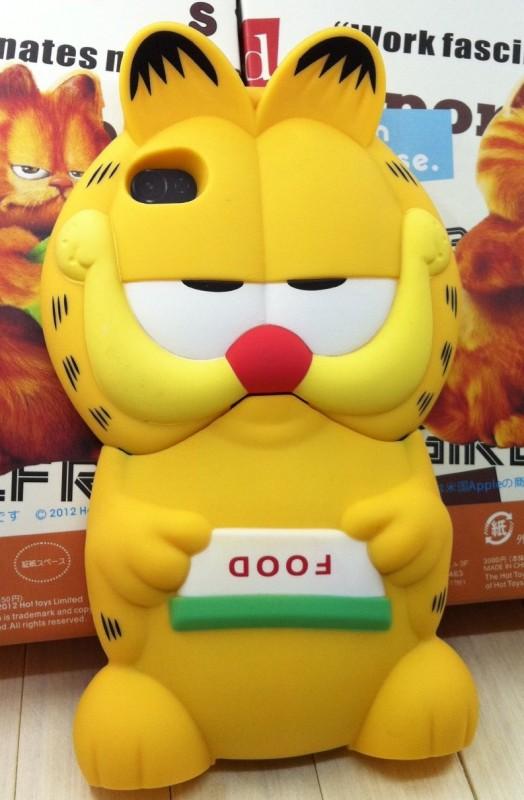 Garfield Cartoon Figure 3D Hard Shell Case for iPhone 4/4S