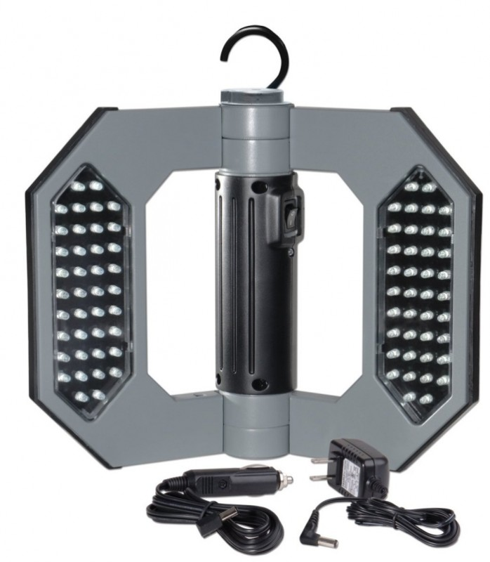 Cooper Lighting LED130 Might-D-Light 80-LED Cordless Rechargeable Folding Worklight