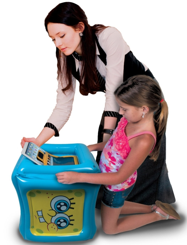 Inflatable Play Cube for iPad/iPad 2/The new iPad with App Included