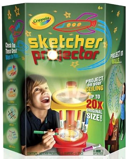 Crayola Sketcher Projector toy gift idea birthday