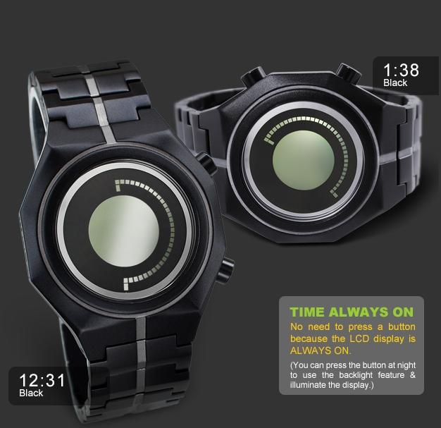 Kisai Maru LCD Watch