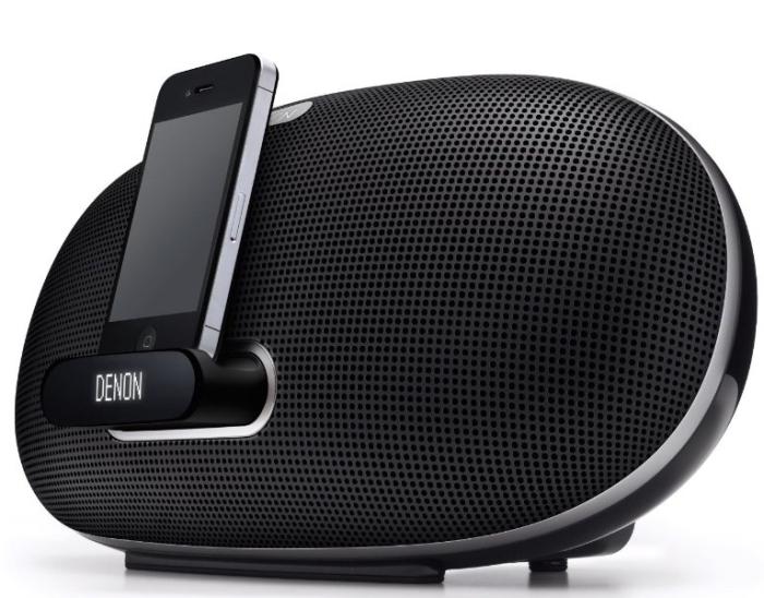 Denon DSD300BK Cocoon Portable Stereo IPOD Dock