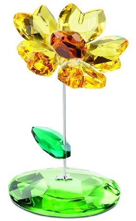 Swarovski Crystal Figurine Joy Rocking Flower