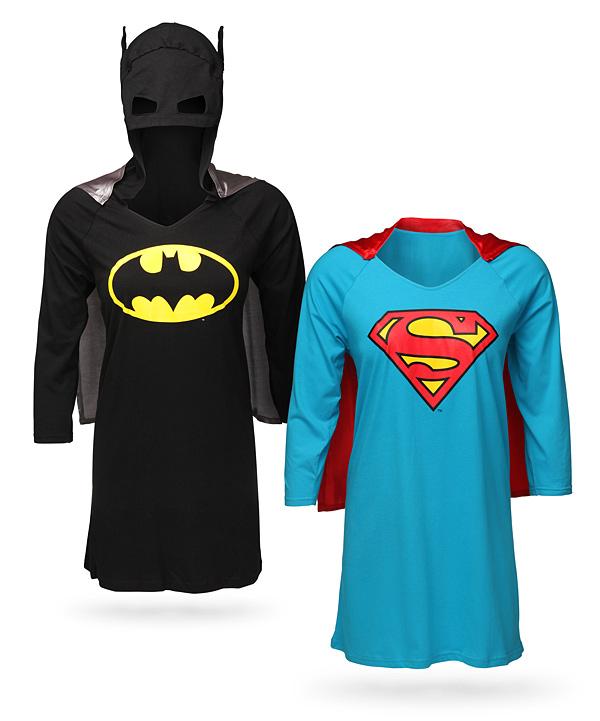 Superheroine Sleep Shirts