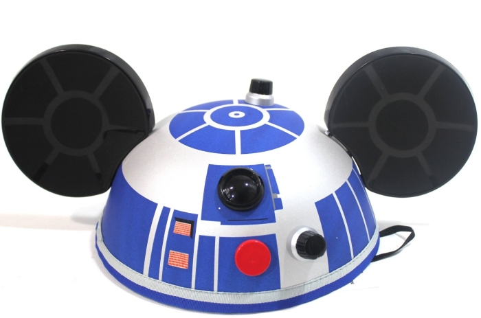 Disney Parks New DELUXE R2D2 Mickey Ears Hat