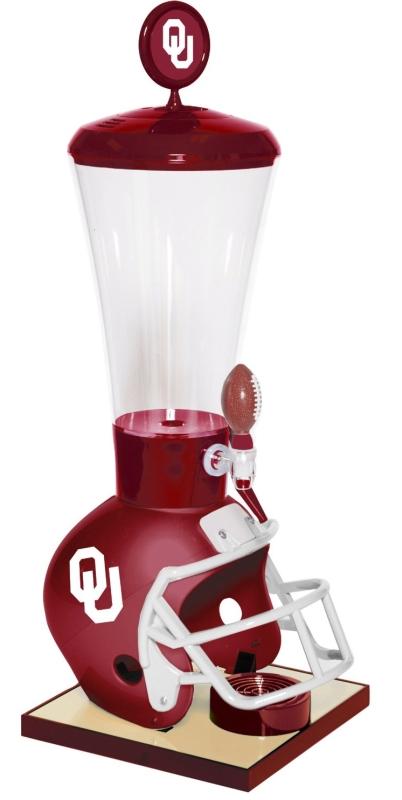 Oklahoma Sooners 1-Gallon Gamer Beverage Dispenser