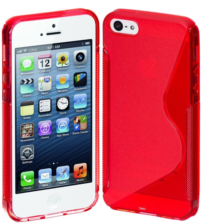 Flexible Cover TPU Case for Apple iPhone 5