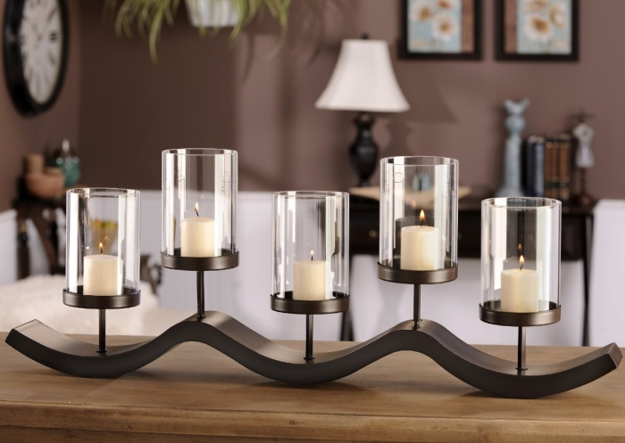 GiftCraft 5 Tier Medal Candle Holder