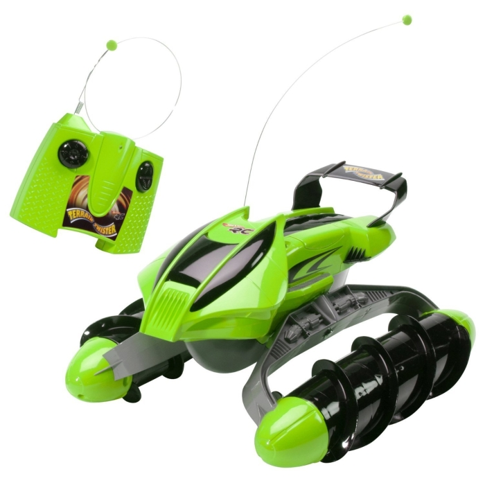 Hot Wheels RC Terrain Twister Vehicle (Green)