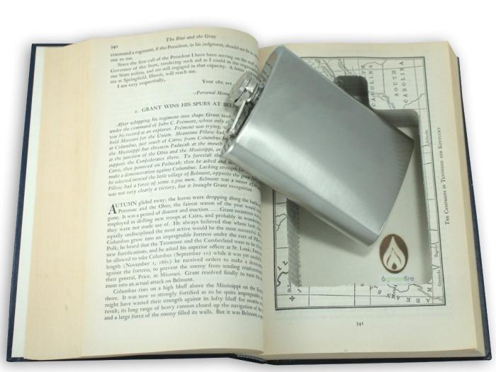 Book Hidden Flask Diversion Safe