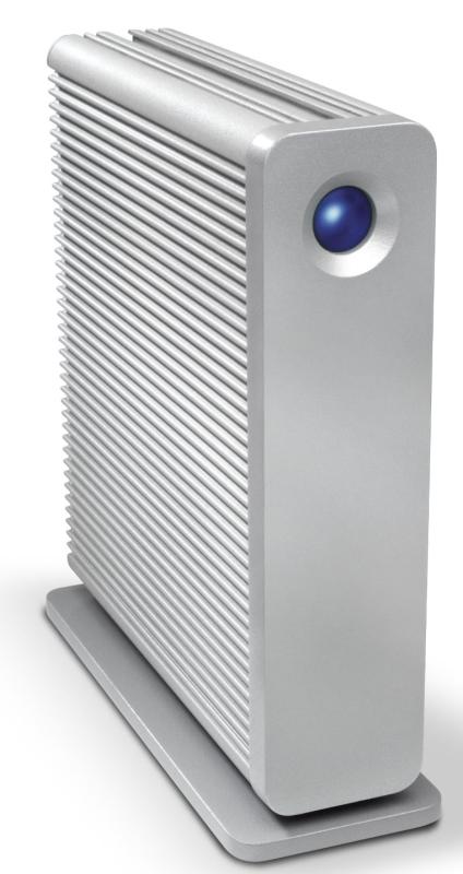LaCie d2 Quadra v3 Hard Disk 3 TB eSATA/FireWire800/USB 3.0 Desktop