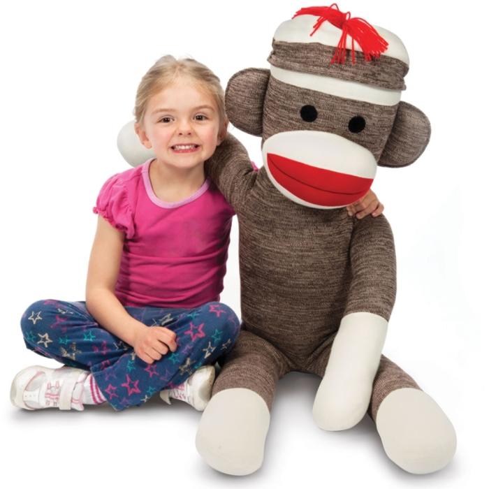 Jumbo Sock Monkey