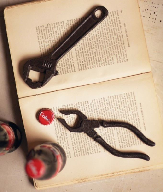 Pliers and Wrench Bottle Openers