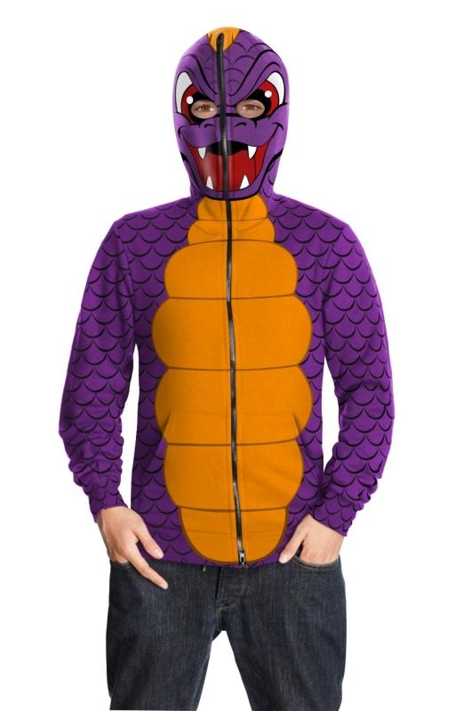 Teen Tween Spyro Dragon Skylanders Costume Hoodie