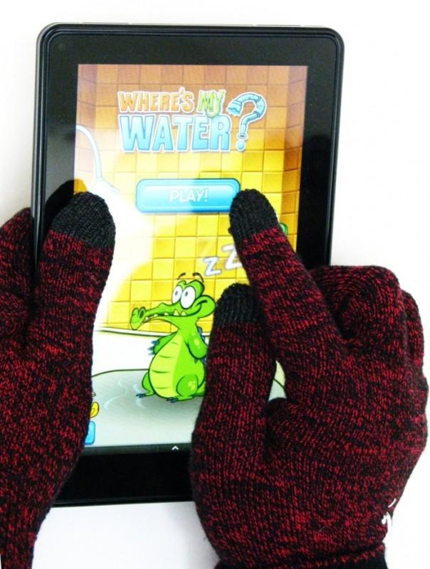 'Great Barrier Reef' Touchscreen Gloves