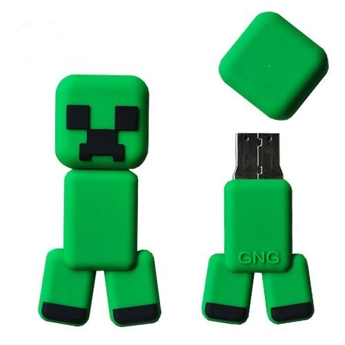 16gb Minecraft Creeper Flash Drive