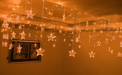 Star Shape Led String Light Holiday Fashionable Lights