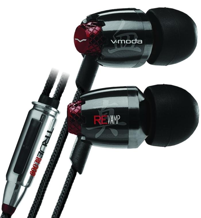 V-MODA for True Blood REVAMP In-Ear Noise-Isolating Metal Headphone