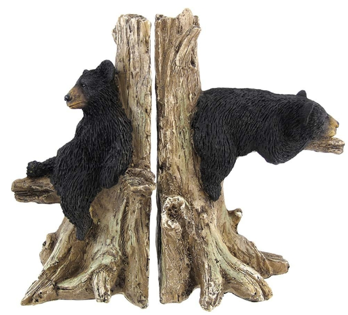 Bear Decorative Bookends Nature Wildlife