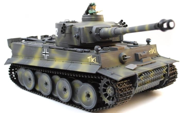 1/16 Scale Custom Paint Radio Remote Control German Tiger