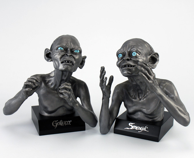 The Noble Collection Gollum-Smeagol Bookends